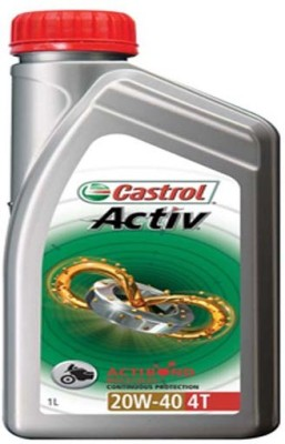 Castrol 20W40 Active 4T Engine Oil
