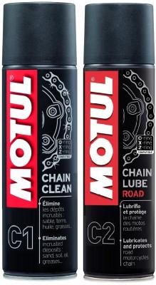 Motul C1 C2 Combo Chain Clean Lube Road Promo 300 ml Chain Oil