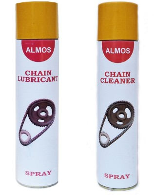Almos Chain 3 Chain Cleaner & Lubricant Chain Oil