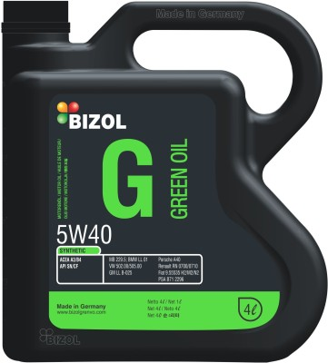 Bizol Grenvo 5w40 5W40 Green Oil Synthetic Motor Oil(4000 ml)