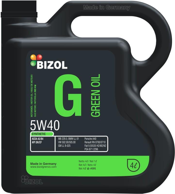 Bizol Grenvo 5w40 5W40 Green Oil Synthetic Motor Oil(4000 ml)