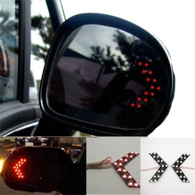 Shoppers Paradise Red LED Vehicle Mirror...