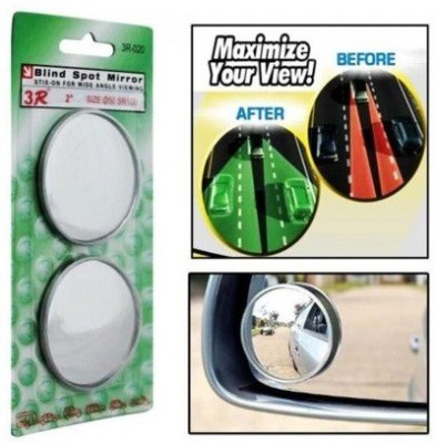 Auto Addict Manual Blind Spot Mirror For Universal For Car Universal For Car(Exterior, Left, Right)