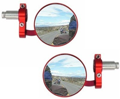 ACCESSOREEZ Manual Rear View Mirror For Royal Enfield Classic 350