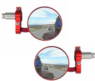 Speedwav Manual Rear View Mirror For TVS Star City