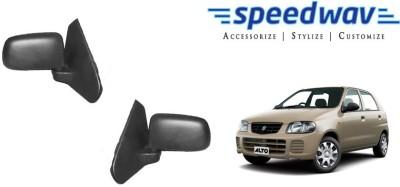 Speedwav Manual Rear View Mirror For Maruti Suzuki Alto