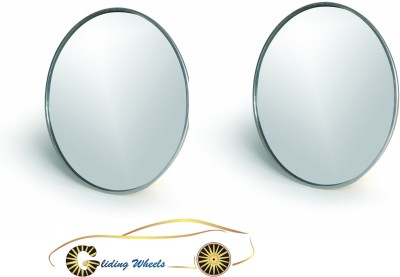 Gliding Wheels Manual Blind Spot Mirror For Universal For Car Universal For Car