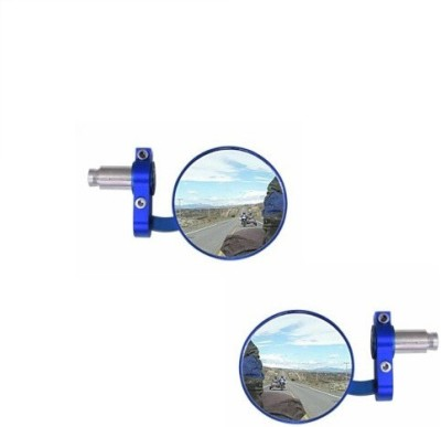 ACCESSOREEZ Manual Rear View Mirror For Royal Enfield Classic Chrome
