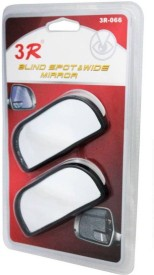AutoStark Manual Rear View Mirror For Renault Kwid(Center)
