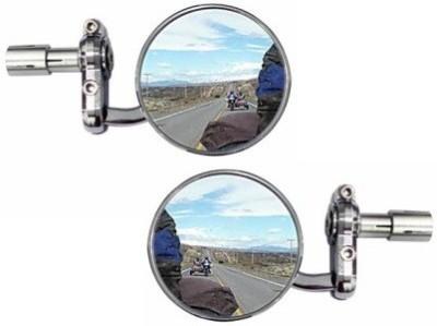 ACCESSOREEZ Manual Rear View Mirror For Honda CB Shine