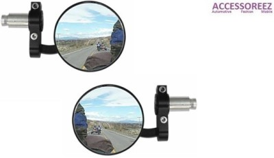 ACCESSOREEZ For Bajaj Pulsar SS400 Manual Rear View Mirror