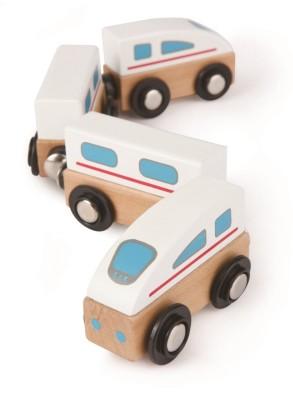 Hape Qubes Magnetic - Bullet Train Toy