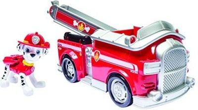 Paw Patrol Nickelodeon Marshall,S Fire Fightin, Truck (Works With Ler)