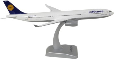 Hogan Wings Airbus A330-300 Lufthansa Ingolstadt w/o landing gear , Scale 1:200 (with Stand without Gear)