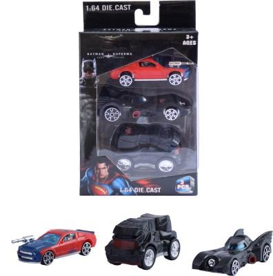 Ochre Batman vs Superman Cars