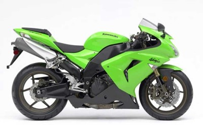 New-Ray 1:18 Kawasaki Ninja ZX-6RR Diecast Motorcycle