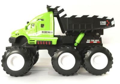 Maisto Builder Zone Quarry Monsters Dump Truck - Green