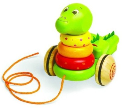BabyCentre Pintoy Stack And Pull Dinosoar [Toy]