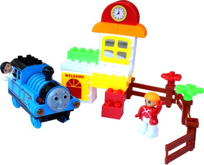 Scrazy Smart Thomas Train & Building Block Set