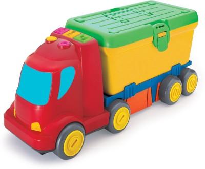 BKids Activity Toy Change Around Work Truck