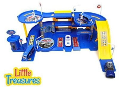 Little Treasures Police Station Toy Set