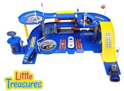 Little Treasures Police Station Toy Set