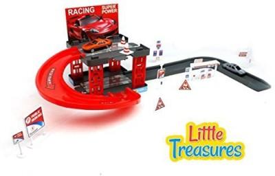 Little Treasures My Racing Parking Garage Play Set