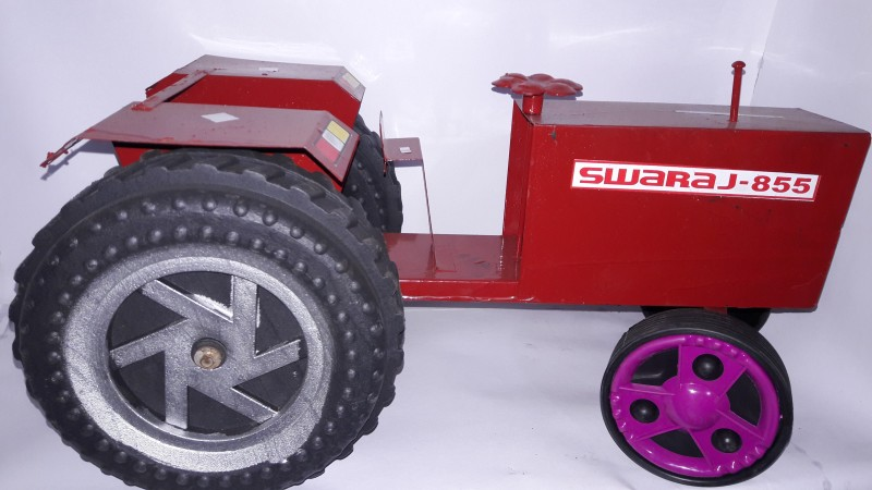 Azad Industries Tractor(Red, White)