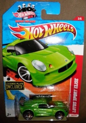 Hot Wheels 2011 Thrill Racers Highway 3/6 Green Lotus Sport Elise