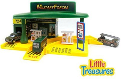 Little Treasures Military Forces Play Set Toy