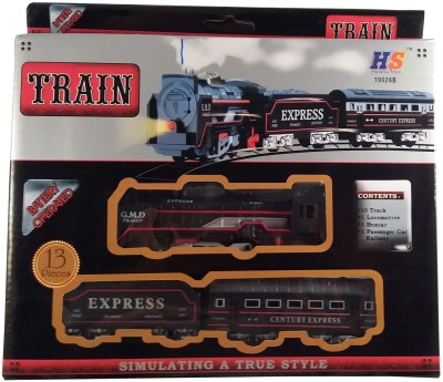 Sani International Battery Operated Train Set(Multicolor)