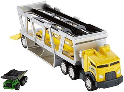 Mattel matchbox construction transporter