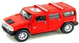 Kinsmart 2008 Hummer H2 SUV (Red)