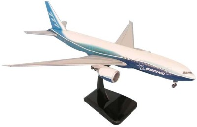 Hogan Wings Aircraft scale model, Boeing 777-200LR , Scale 1:200 (with Stand & gear)