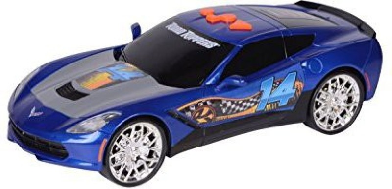 Toystate State Road Rippers Wheelie Power Chevy Corvette C7(Blue)