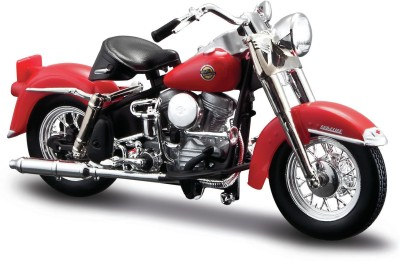 Maisto Harley Davidson 1958 Flh Duo Glide Diecast Bike