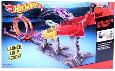 Hot Wheels Super Score Speedway Race Launcher