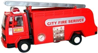 A M Enterprises Red Plastic Fire Truck