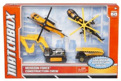 Matchbox Sky Busters Mission Force Construction Adventure Pack