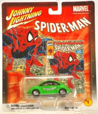 Johnny Lightning Marvel Series Spiderman 1998 Vw Beetle