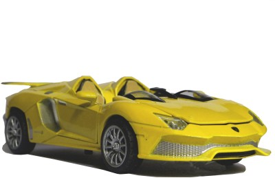 Adraxx 1:32 Scale Collector's Die Cast Covertible Car Model