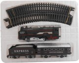SMT Black Battery Operated Train (Black)