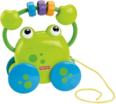 Fisher-Price Growing Baby - Pull- Along Froggie