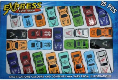 CP Bigbasket Express 25 Pc car toy set for kids