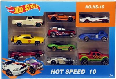 Montez Hot Speed 10pcs Car Gift Pack