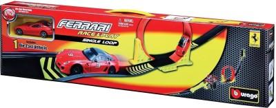 Bburago Ferrari Race and Play Single Loop Playset