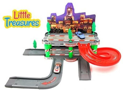 Little Treasures Parking Garage Play Set