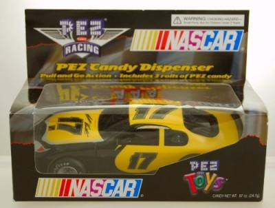 PEZ Candy 2003 Pez Racing Matt Kenseth 17 Dispenser Pull & Go
