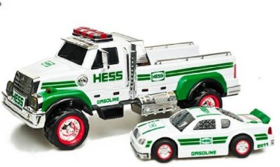 Hess 2011 Truck And Race Car