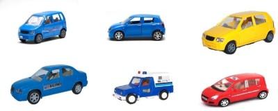 Centy Collection of 6 Maruti Suzuki Cars : WagonR Swift Alto Baleno Gypsy Ritz